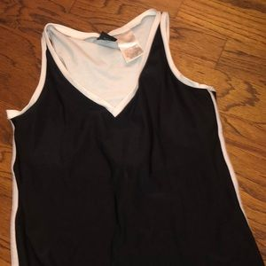 Nike black tennis dress with slit on sides